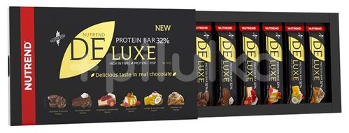 Nutrend DELUXE dárkové balení mix příchutí 6x60g