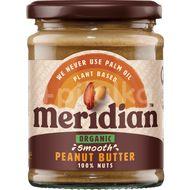 Meridian Organic Arašídové máslo jemné 280g