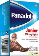Panadol Junior 250mg  čípky 10ks
