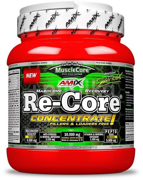 Amix Re-Core Concentrate, fruit punch, 540g