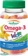 Jamieson Omega-3 Kids Gummies želatinové pro děti 60 pastilek