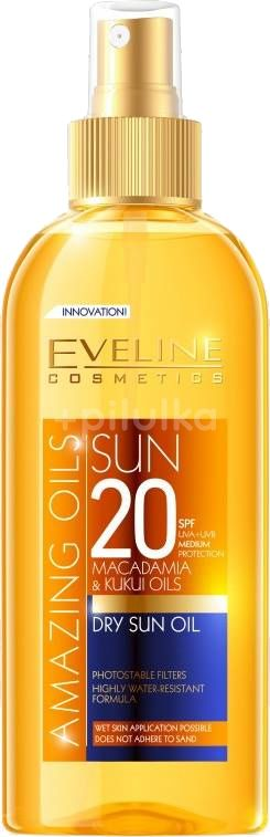 Eveline Amazing Oils - Dry Sun oil SPF 20 150ml