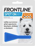 Frontline Spot On Dog S 2-10kg, Pipeta 0,67ml