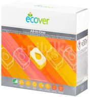 ECOVER Tablety do myčky All in One Nordic Swan 1,3kg