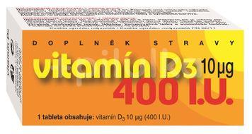 Naturvita Vitamín D3 400 I.U. 90 tablet