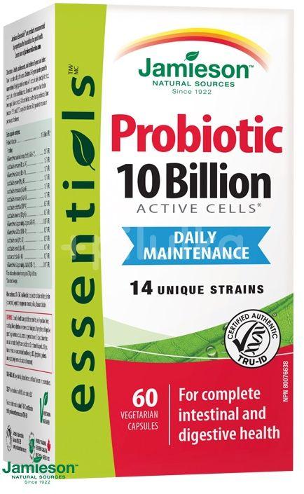Jamieson Probiotic 10 miliard 60 kapslí