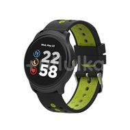 Canyon Stylové sportovní inteligentní hodinky Oregano- černá/zelená