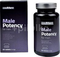 Cobeco Afrodiziakální tablety CoolMann Male Potency 60ks