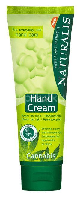 Naturalis krém na ruce s konopným olejem 125ml