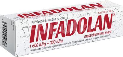 Infadolan dermální mast 100g