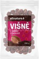Allnature Višně v hořké čokoládě 250g