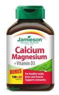Jamieson Vápník, hořčík s vitamínem D3 120ks