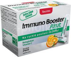 Immuno Booster Akut s pomeranč. příchutí 10 ampulí