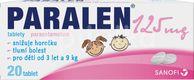 Paralen® 125mg 20 tablet