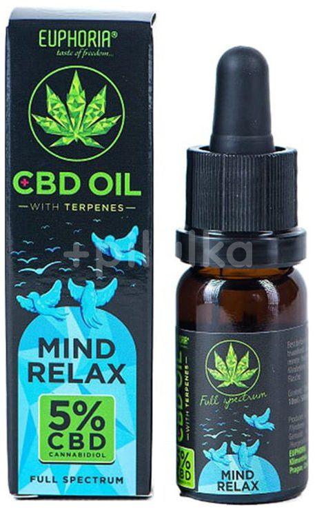 Euphoria CBD olej 5% Mind Relax 10ml