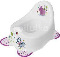 Keeper Dětský nočník Hippo bílá