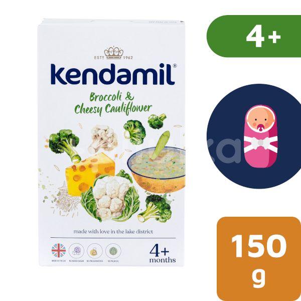 Kendamil Jemná bezlepková kaše s brokolicí, květákem a sýrem 150g