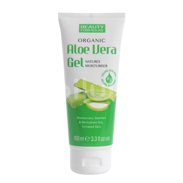 Beauty Formulas Aloe Vera Gel 100ml