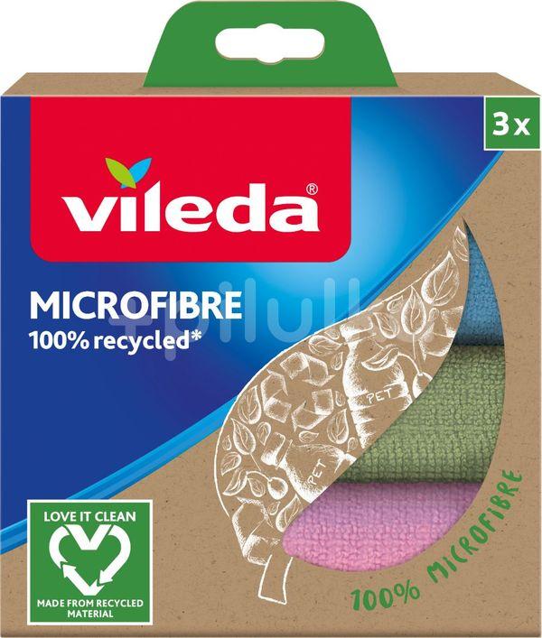 Vileda mikrohadřík z recyklovaných vláken 3ks
