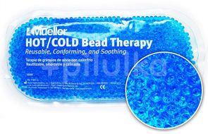 Chladivý/hřejivý polštářek gelové kuličky modrý 1ks