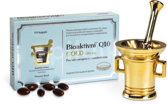 Bioaktivní Q10 Gold 100mg 150kapslí