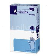Ambulex Nitryl rukavice nitril.nepudrované L 100ks