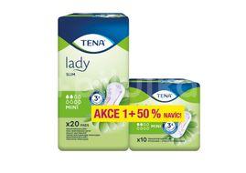 TENA Lady Slim Mini Inkontinenční vložky 20 + 10ks