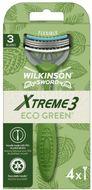 Wilkinson Sword Xtreme3 ECO Green - Jednorázový holicí strojek 4ks