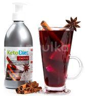 KetoDiet Sirup bez cukru s příchutí cherry 500ml
