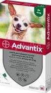 Advantix pro psy spot-on do 4kg 4x0.4ml