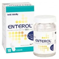 Enterol 250mg 10 tvrdých perorálních tobolek