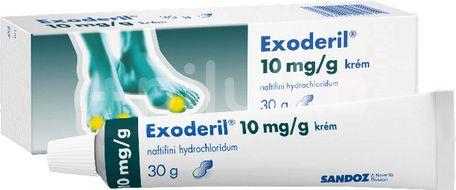 EXODERIL® 10 mg/g krém, 30 g