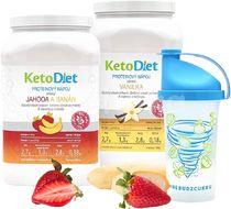 KetoDiet 2týdenní proteinové nápoje BASIC 1. krok 70 porcí