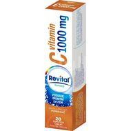Revital C vitamin 1000mg Pomeranč 20 šumivých tablet