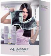 Alfaparf Milano Keratin Therapy Set udržující péče Lisse Design 3ks