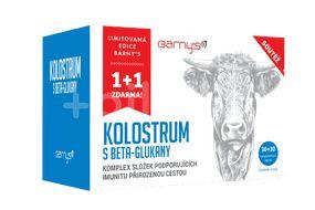 Barnys Kolostrum s betaglukany limitovaná edice 30+30 kapslí
