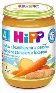 HiPP BABY Karotka s bramborami a lososem 190g