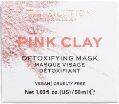 Revolution Skincare, Pink Clay Detoxifying, maska na obličej 50ml
