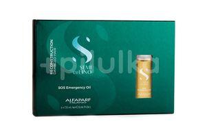 Alfaparf Milano Semi di Lino SOS olej pro hloubkovou regeneraci poškozených vlasů 6x13ml