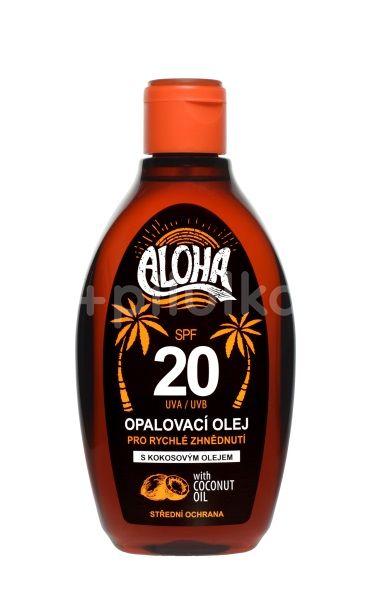 Vivaco Sun Aloha bronz opalovací olej OF20 200ml