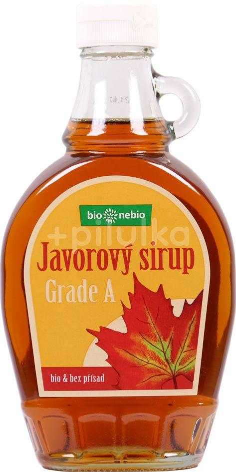 Bio*nebio Bio Javorový sirup 100% Grade A 250ml