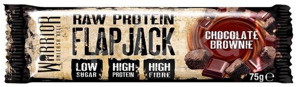 Warrior Raw Protein FlapJack chocolate brownie 75g