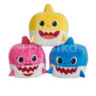 Orbico Baby Shark Plyšová hrající a zpívající kostka