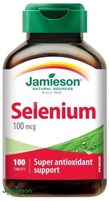 Jamieson Selen 100mcg 100 tablet