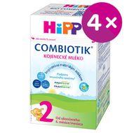 HiPP 2 BIO Combiotik mléko 4x500g