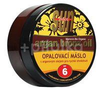 Sun Vivaco SUN Bronz Opalovací máslo SPF 6 s argan.olejem 200ml