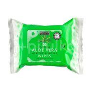 Beauty Formulas Aloe vera odličovací ubousky s kyselinou hyaluronovou 30ks