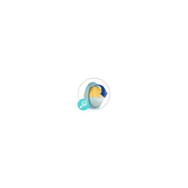 Canpol babies Chrastítko činka s rotujícími prvky modrá 1ks