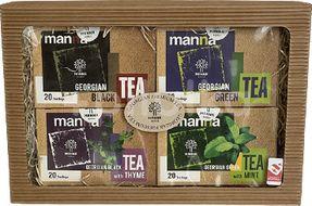 Dárková kolekce výběrových porcovaných gruzínských čajů