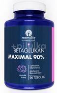 Renovality Betaglukan MAXIMAL 90% s Vitamínem C 90 tobolek